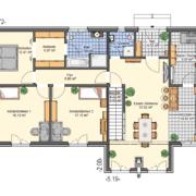 mainHAUS - Häuser: Cubushaus Grundriss EG