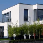 mainHAUS - Häuser: Cubushaus Beispiel Außenansicht