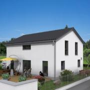 mainHAUS - Häuser: Individualhaus 3D-Ansicht