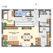 mainHAUS - Häuser: Individualhaus Grundriss EG