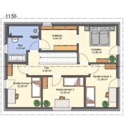 mainHAUS - Häuser: Individualhaus Grundriss OG