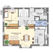 mainHAUS - Häuser: Jungfamilienwohnhaus Grundriss EG