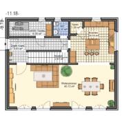 mainHAUS - Häuser: Stadthaus Grundriss EG