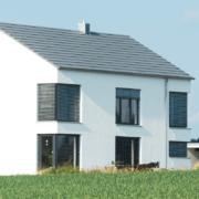 mainHAUS - Häuser: Stadthaus Beispiel Außenansicht