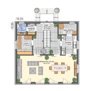 mainHAUS - Häuser: Stadtvilla Grundriss EG