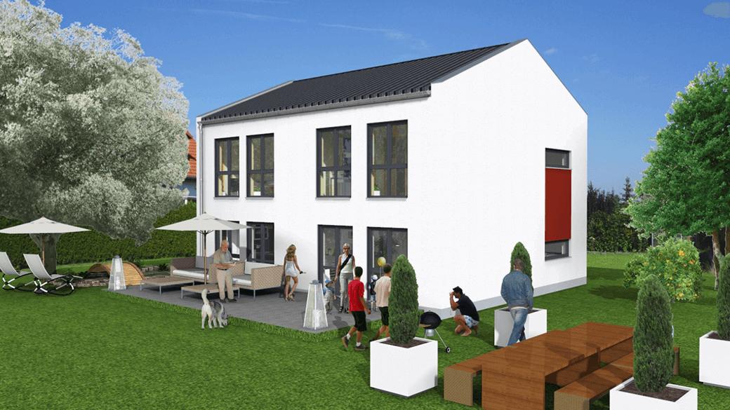 mainHAUS - Haustyp Stadthaus Teaser