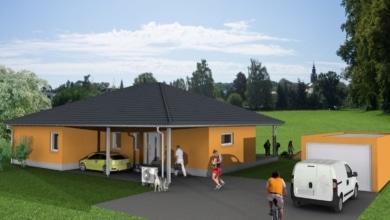 mainHAUS - Bungalow Schondra OT Singenrain - 3D-Ansicht