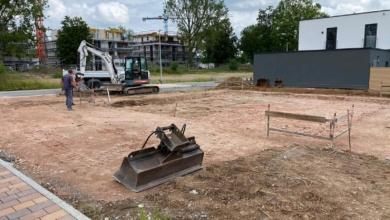 mainHAUS - Cubushaus Schweinfurt - Erdarbeiten