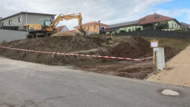 mainHAUS - Stadthaus Stadtlauringen - Erdarbeiten