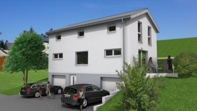 mainHAUS - Individualhaus Schraudenbach - 3D-Ansicht