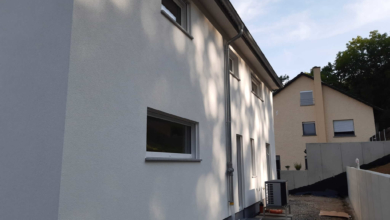 mainHAUS - Individualhaus Schraudenbach - Fassade verputzt